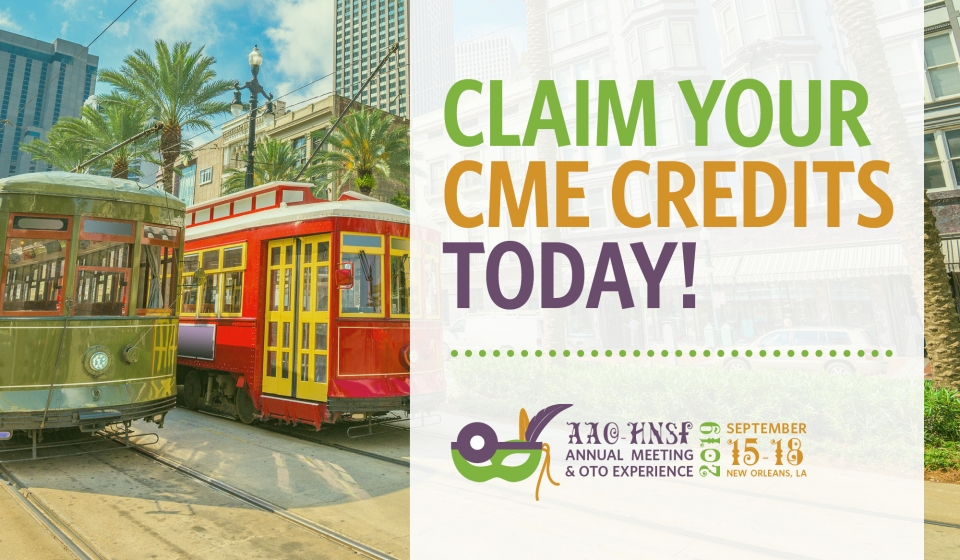 Claim Your CME Credit Now